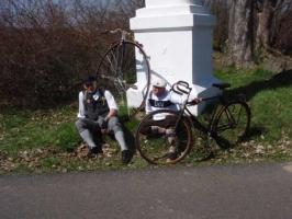 Jarní výlet ČKV1880 a Klubu Staromilců